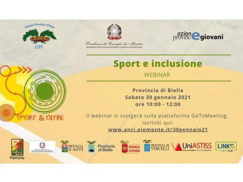 Immagine notizia Sport e inclusione in Provincia di Biella