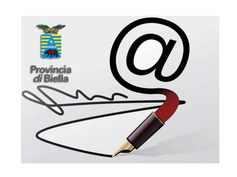 Immagine notizia Provincia di Biella e i servizi per i Comuni: la firma digitale