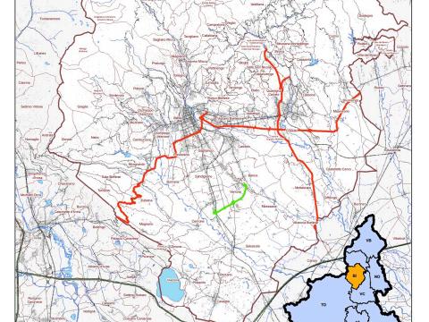 Immagine notizia Riclassificazione delle strade, mappa ed elenco dei tratti trasferiti ad Anas Spa
